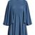 Cape-sleeve silk-georgette dress