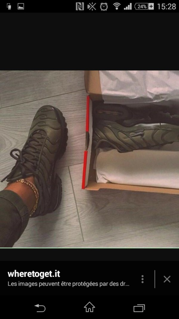 "426cb7f43df Nike Air Max Plus Tuned 1 Tn ""Olive Green"" Unisex Trainer Limited ..."