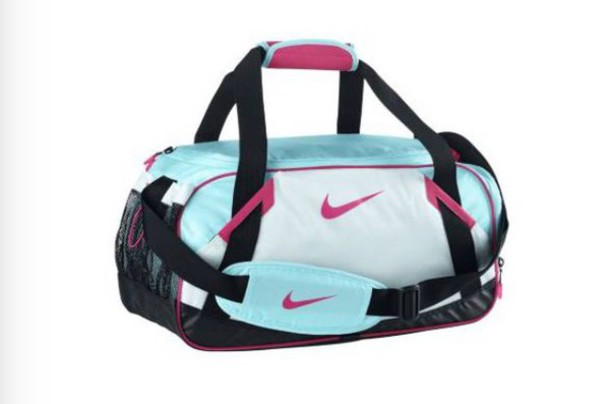 ca0020d05b bag nike duffel bag pink black teal