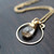Lapis Lazuli Bezel-Style Necklace                           | Saressa Designs