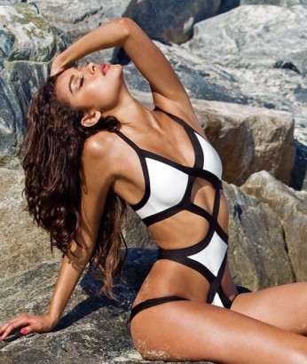 Coconut Dreams Cutout Monokini - Sexy. Flirty. Fun. What better way to stand out at the beach
