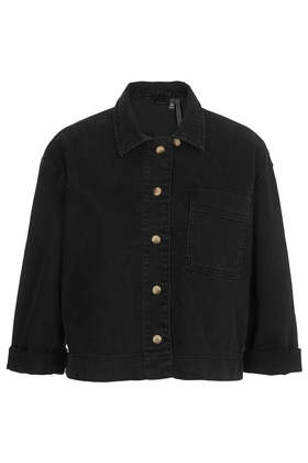 Black Denim Shirt by Boutique - Boutique  - Clothing  - Topshop