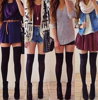 underwear shoes blouse dress scarf belt shorts tank top sweater jacket