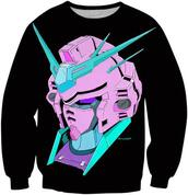 sweater,mecha,harajuku,vaporwave,neon,jfashion