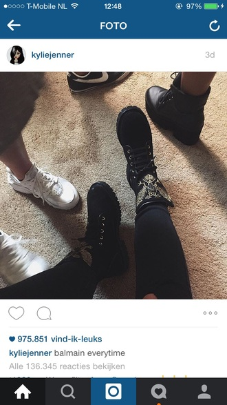 kylie jenner swag dope fashion timberlands