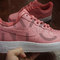 Nike air force 1 lows soft pink custom men & kids (red / blue / gold / gift box blue / purple)