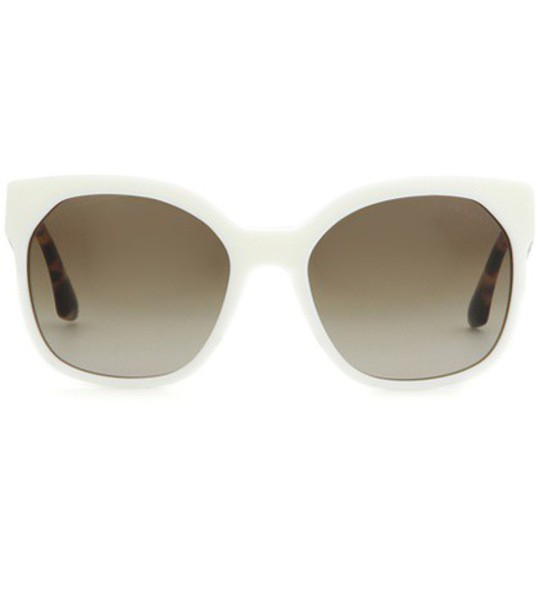 Prada sunglasses white