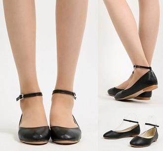 shoes flats classy black shoes