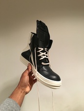 shoes,sneakers,rick owens