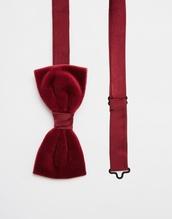 asos,velvet,red velvet,mens accessories,bow,bow tie,red,wedding accessories,groom wear,wedding