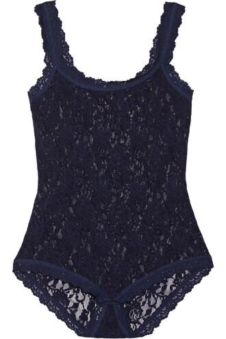 bodysuit lace bodysuit lace navy underwear