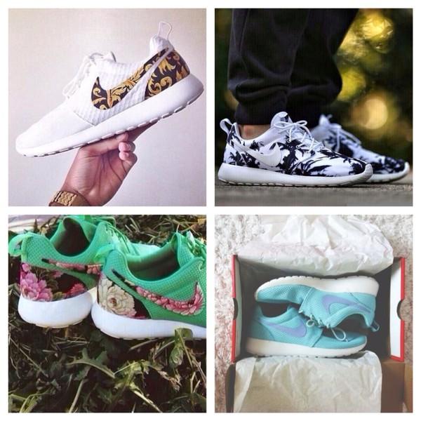 shoes nike nike running shoes colorful beautiful