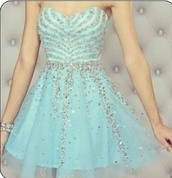 dress,baby blue,zebra sparkles