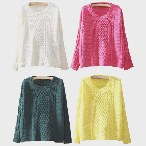 Cable knit sweater 3 · just fashion ·