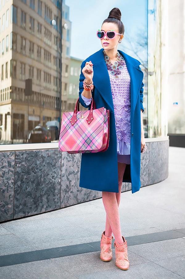 macademian girl coat dress bag shoes sunglasses jewels