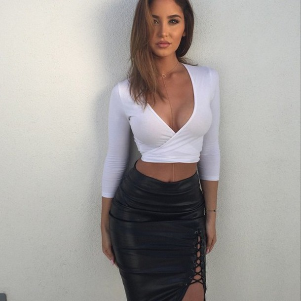 Tight leather skirt tumblr