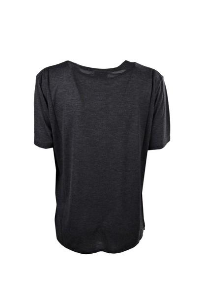 Saint Laurent t-shirt shirt t-shirt noir multicolor top