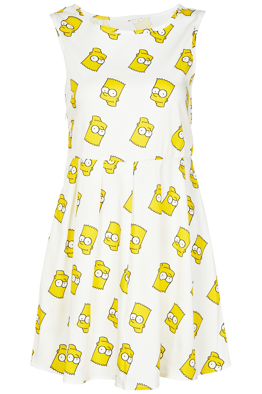 Bart Simpson Dress, by ROMWE - BETTY ♡ FELON