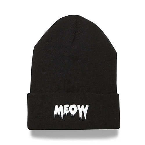 H-MEOW BLACK accessories cold weather hats fashion - Steve Madden