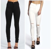 jeans,high waisted jeans,black high waisted pants,black jeans,wripped jeans,black ripped jeans,leggings,jeggings,pants