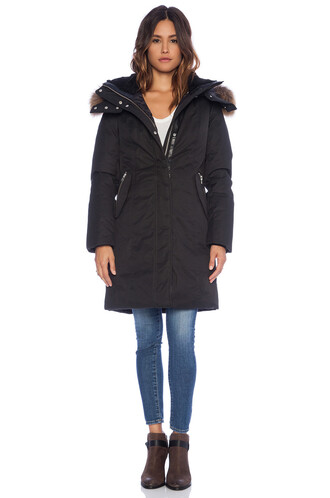 jacket fur black