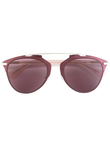 Dior Eyewear metal women sunglasses purple pink