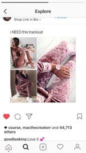 jumpsuit,pink,velvet,pink velvet,tracksuit
