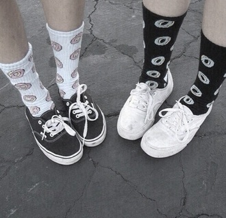 socks doughnuts love grunge donut living royal