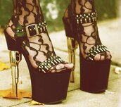 shoes,socks,platform heels,black,high heel sandals,celebrity