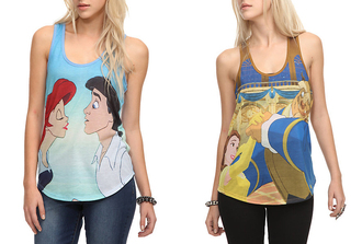 shirt disney the little mermaid ariel princess blue