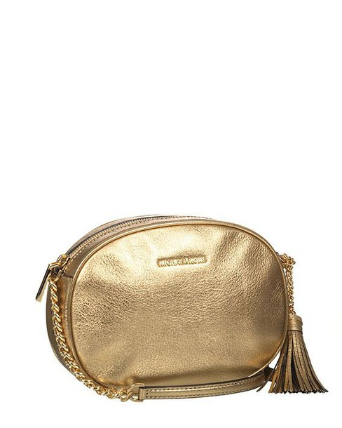 Michael Kors gold pale bag