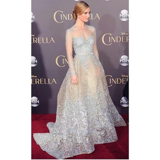 dress blue cinderella