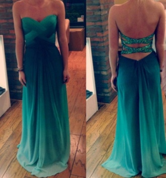 dress ombre ombre dress glitter glitter dress prom dress cut-out cut-out dress primark