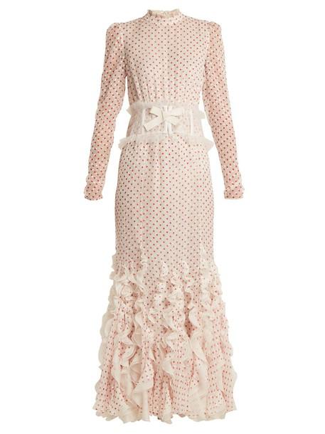 GIAMBATTISTA VALLI gown silk dress