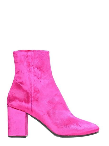 Balenciaga velvet shoes
