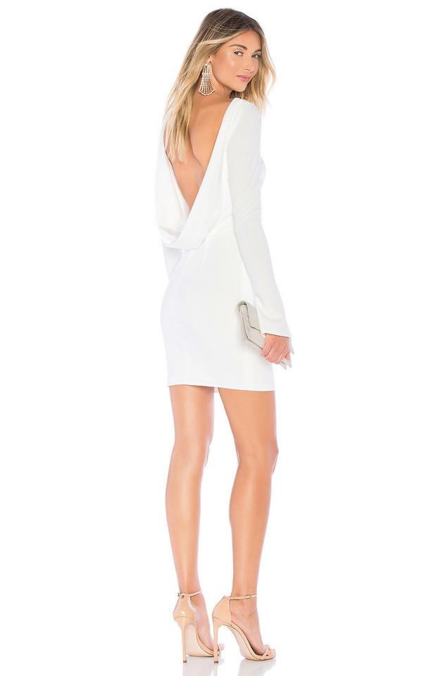Katie May Glisten Dress in white