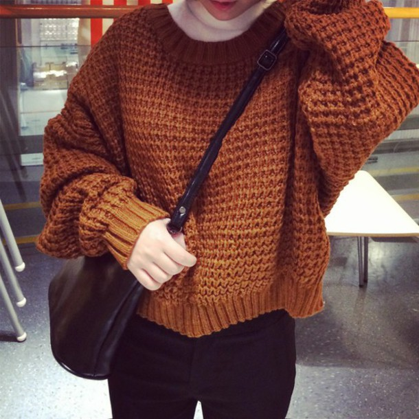 sweater fashion top knit sweaters khaki sweater