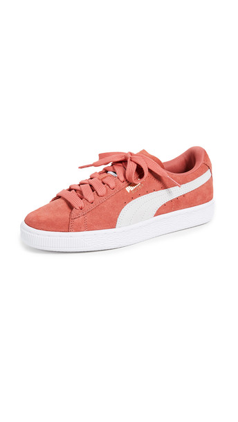 Nike Velvet Air Force 1 '07 Premium Sneaker in Washed Coral