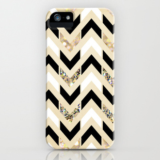phone cover iphone 5 case gold black cute white