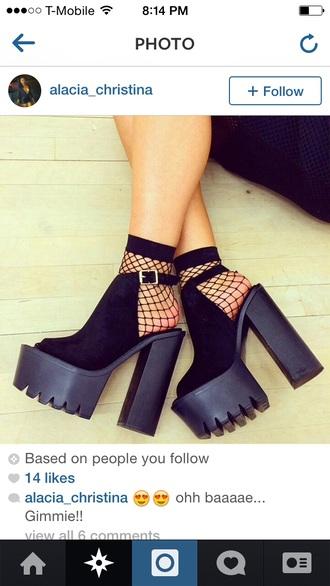 black platform shoes jeffery campbell fashion
