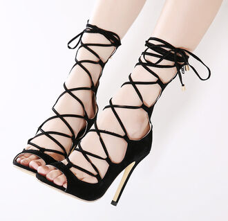 shoes rose wholesale heels black high heels sandals sandal heels strappy sandals instagram classy
