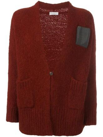 cardigan women wool red sweater