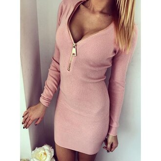 dress bodycon dress cleavage sexy pastel pink zip deep v rose wholesale knitwear sweater dress hot sexy dress stylish pink long sleeves pink dress long sleeve dress bodycon party dress sexy party dresses party outfits summer dress summer outfits fall dress fall outfits winter dress winter outfits classy dress elegant dress casual dress date outfit birtday dress cute cute dress girly girlyd ress girly dress birthday dress romantic romantic dress romantic summer dress clubwear club dress dope soft