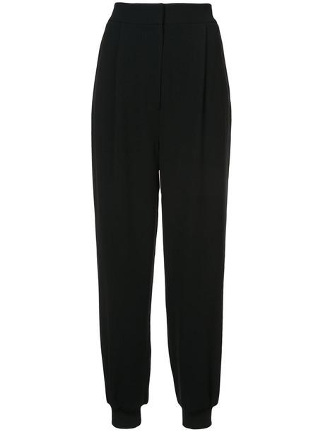 Tibi style women spandex black pants