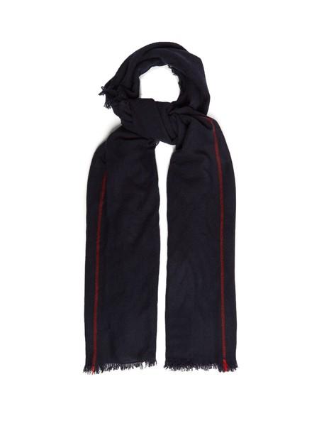 scarf navy