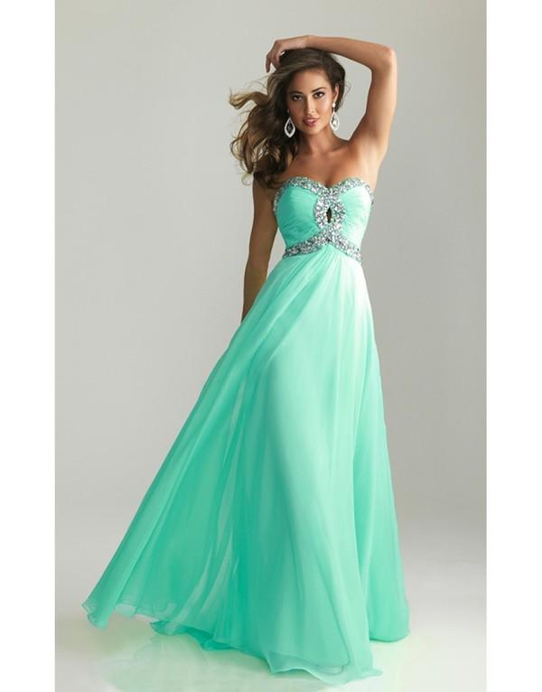 light blue long prom dress | Gommap Blog