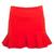 Saia Shop 126 Babados Vermelha - Compre Agora | Dafiti