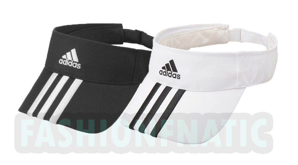 Adidas Essentials Sports Adjustable Golf Tennis Visor Cap One Size 763f03c6532