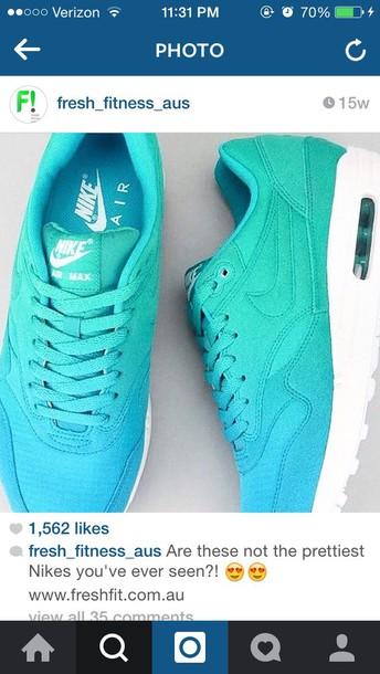 shoes blue nike