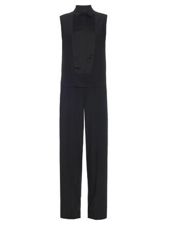 jumpsuit sleeveless black
